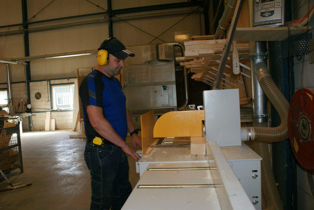 Prefab timmerwerk voor de bouw